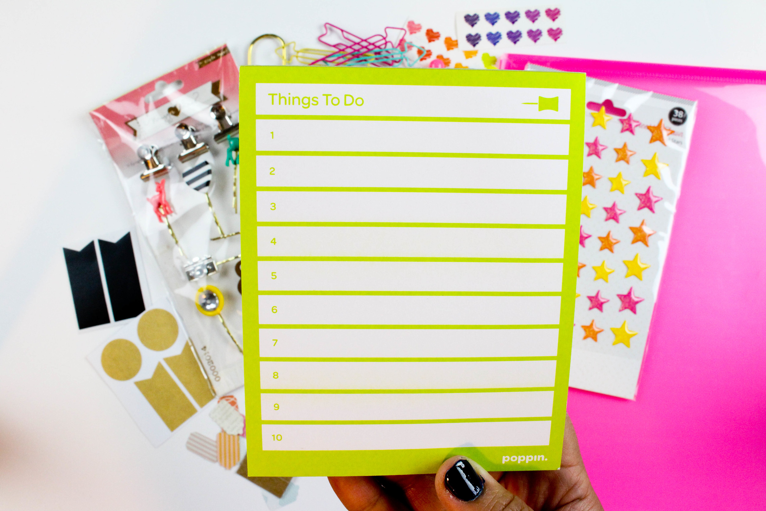 Poppin Inc. To Do List Pad