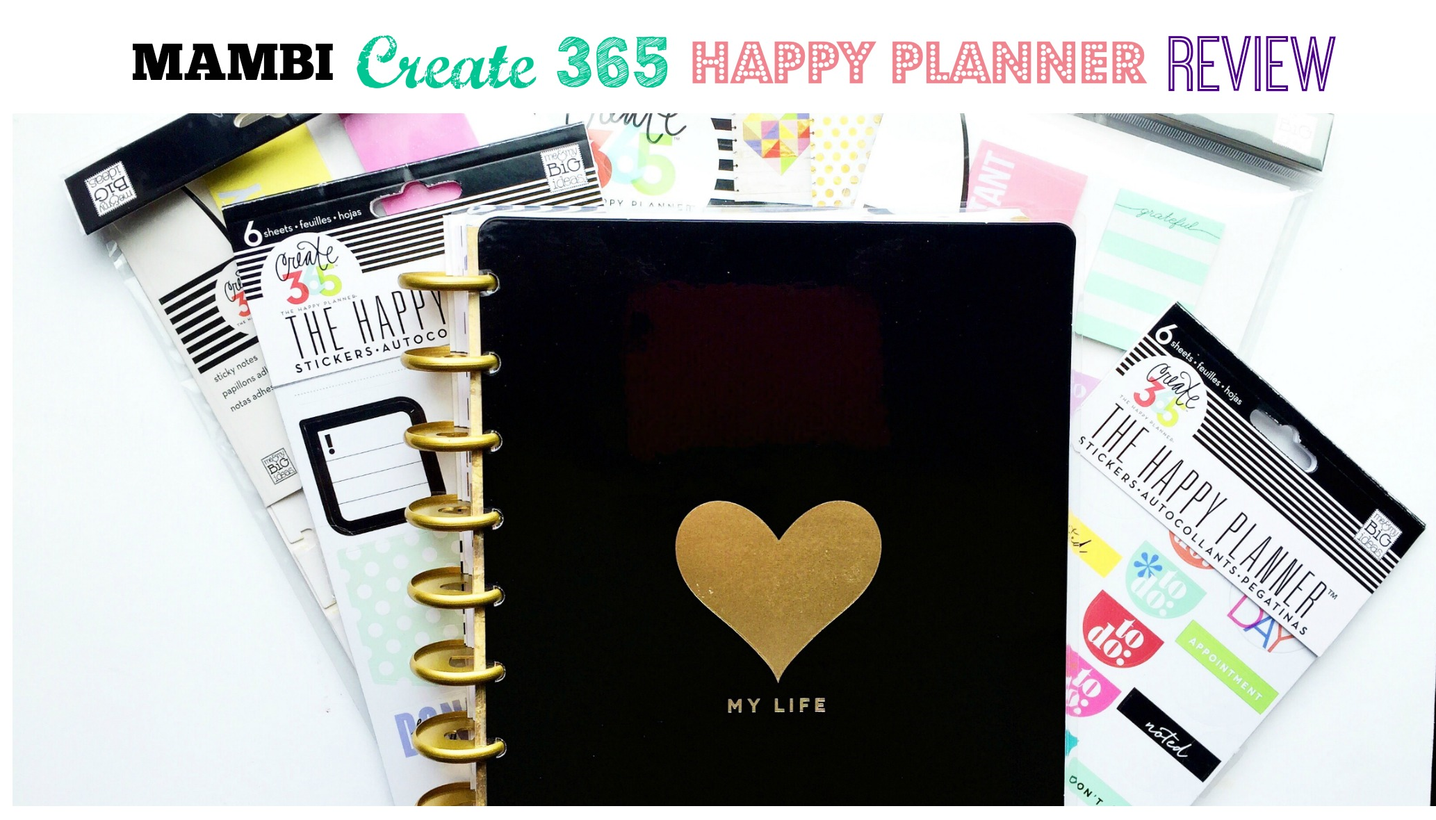 MAMBI Create 365 Happy Planner Review