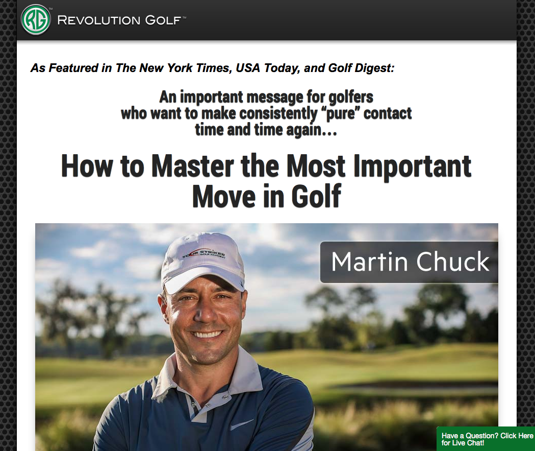 Revolution Golf - Master the Move