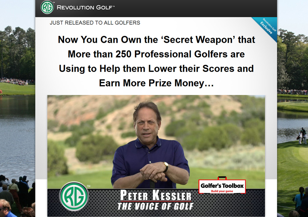 Revolution Golf - Peter Kessler