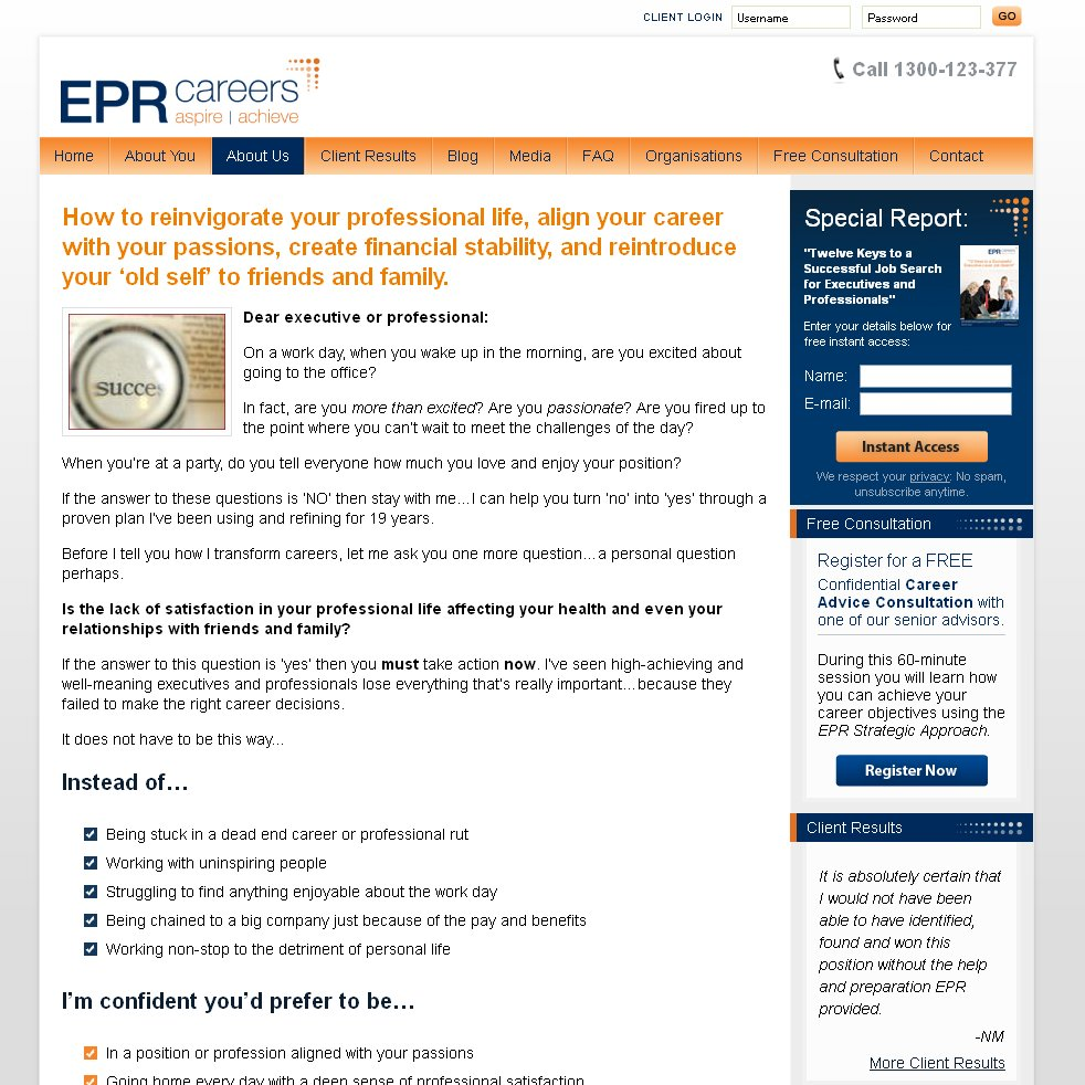 EPR Careers