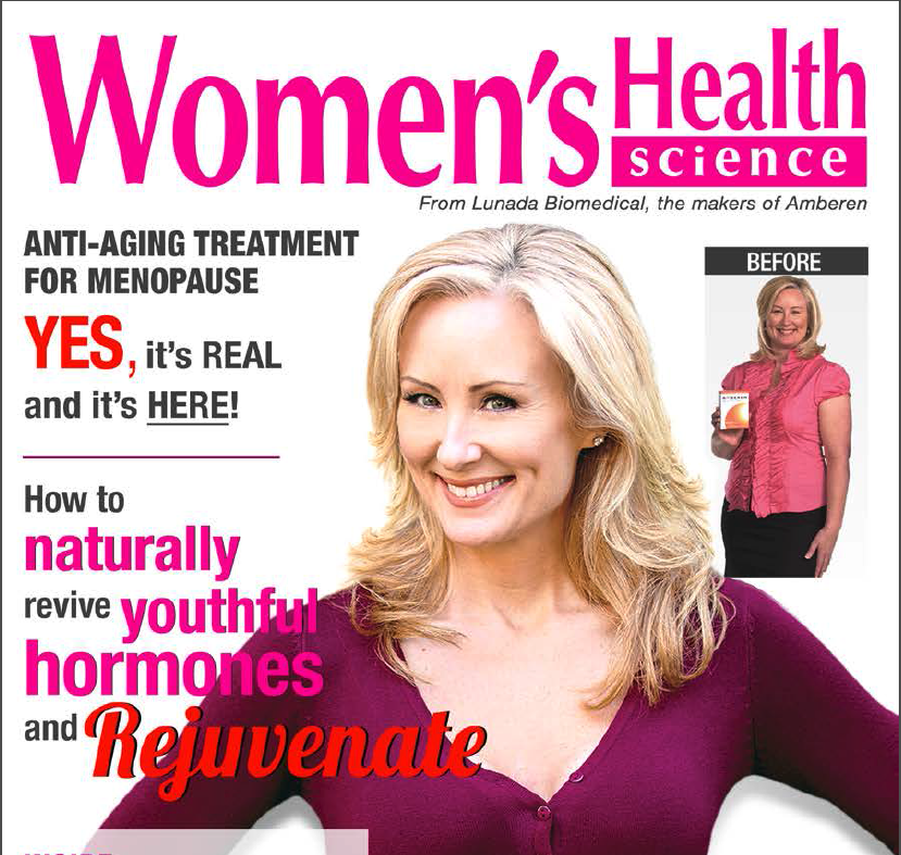 Copy for a Magalog targeted at women experiencing the symptoms of menopause. As a direct response copywriter and former magazine publisher, I enjoy the magalog format.