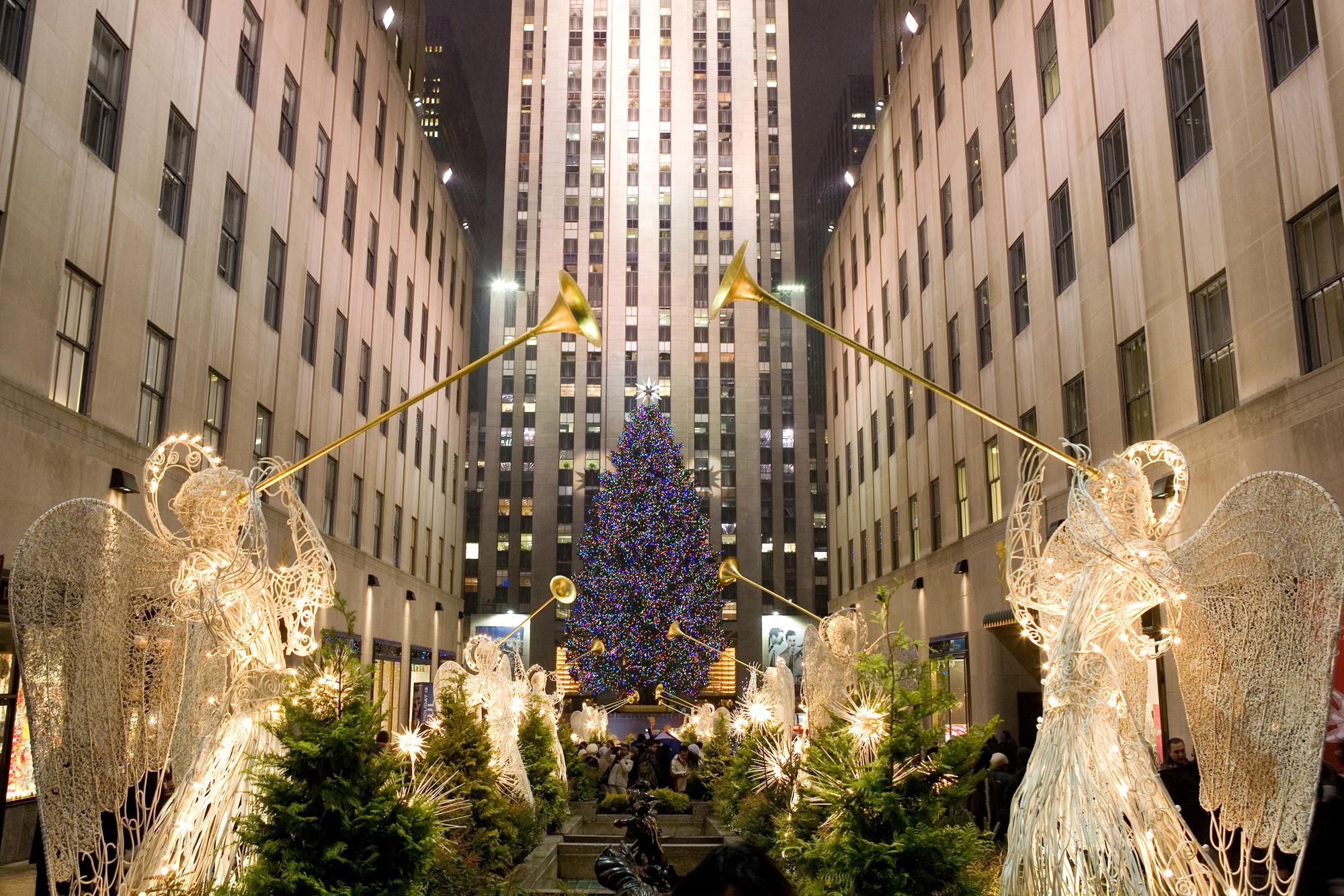 Christmas in the Romona Keveza New York City Flagship!