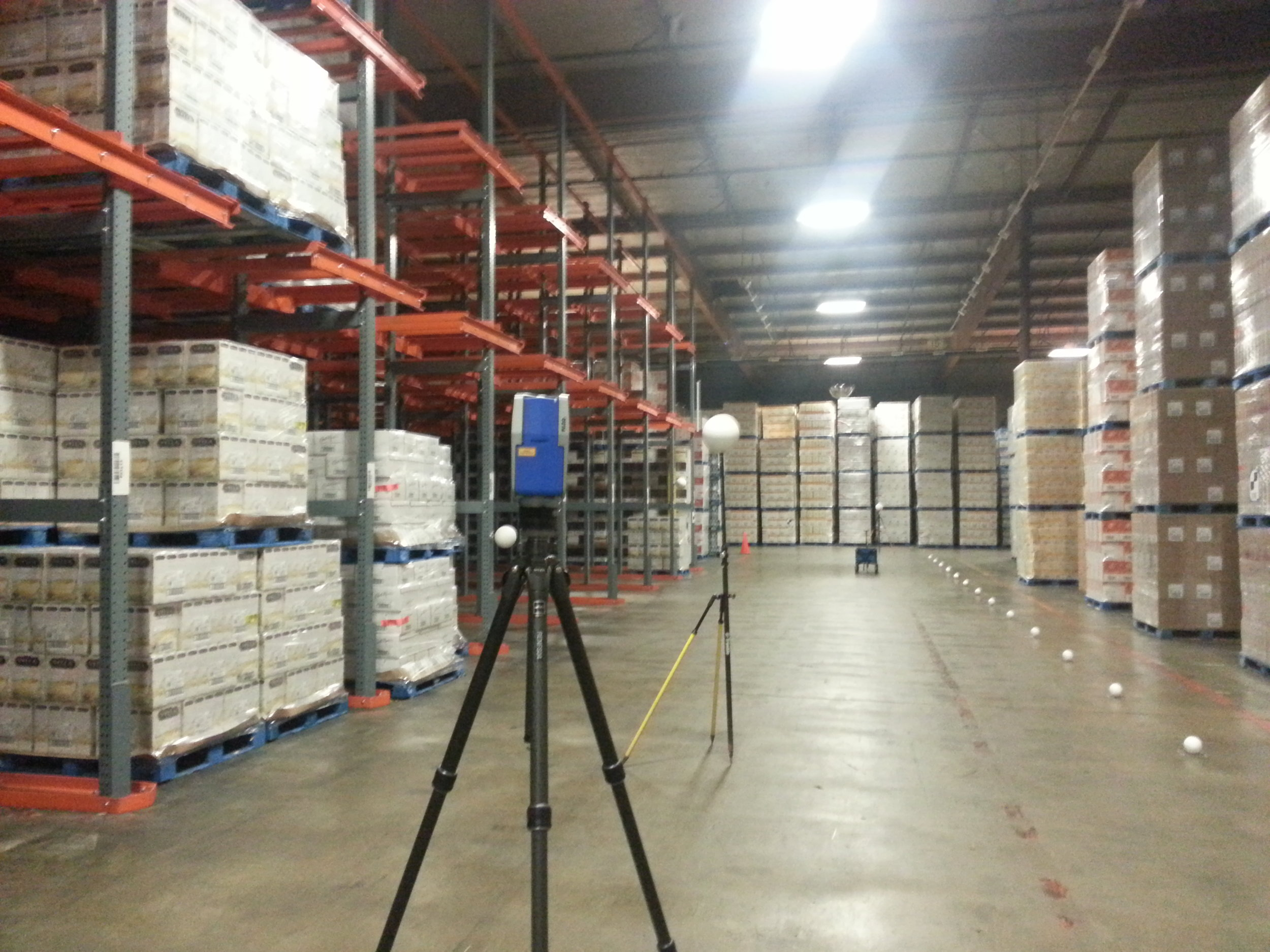3D Scan for Automated Guided Vehicle Control