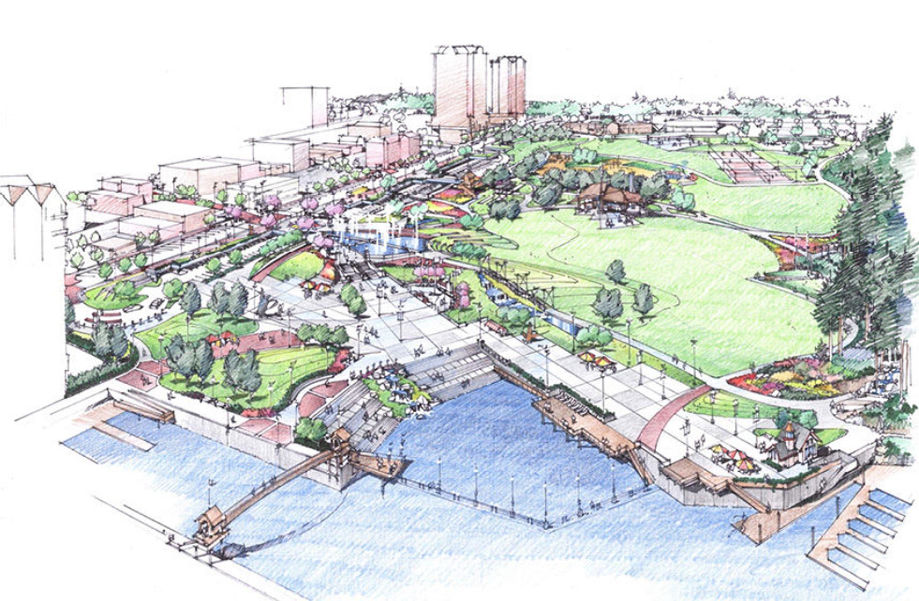 McEuen Park Redevelopment - General Design Category. - BWA Landscape Architecture