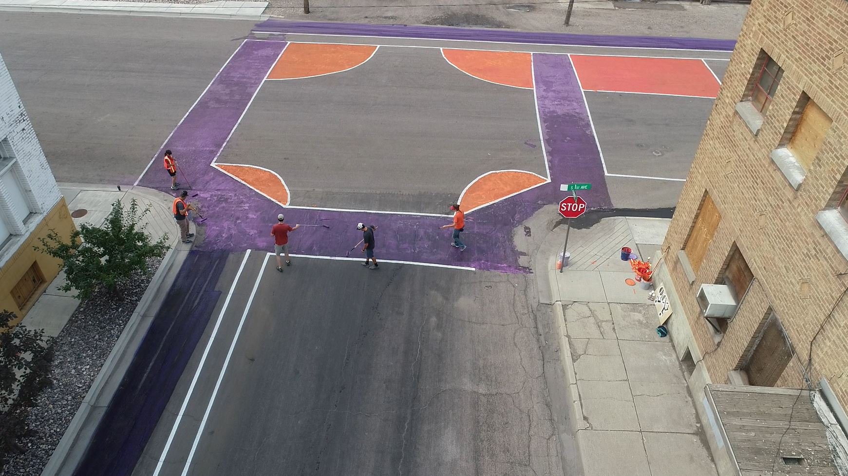Terry First intersection city of pocatello.jpg