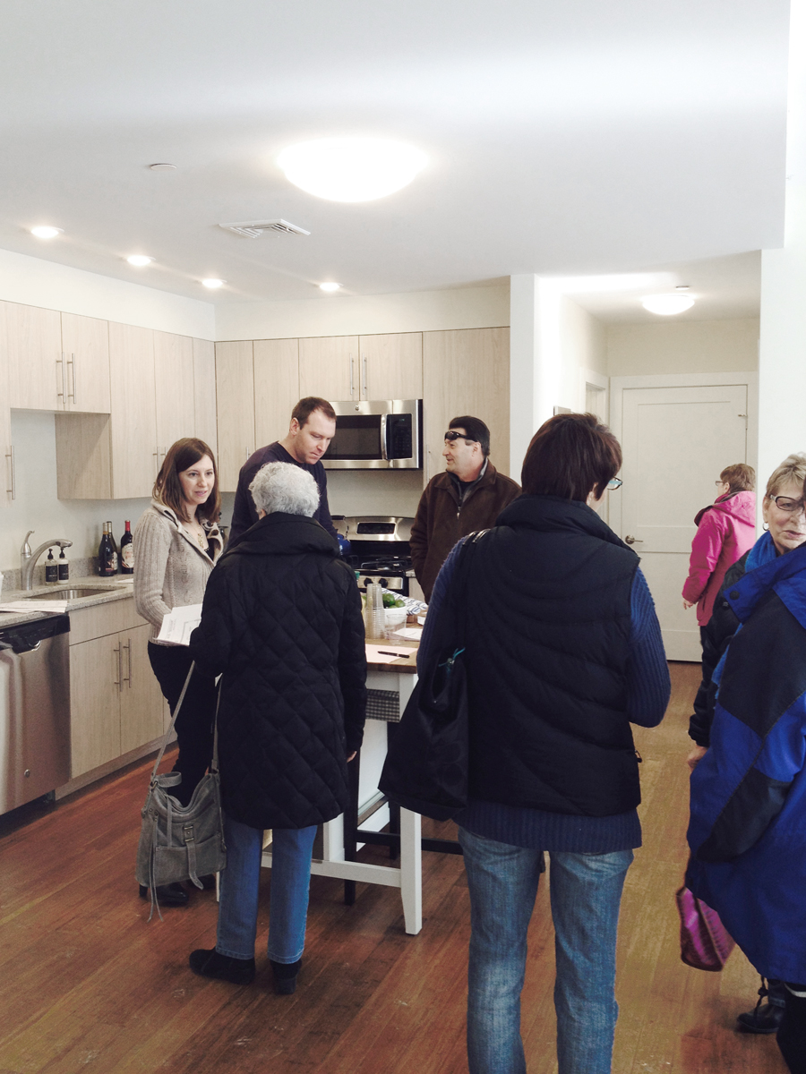 Open House at the newly completed 45 Pop Lofts