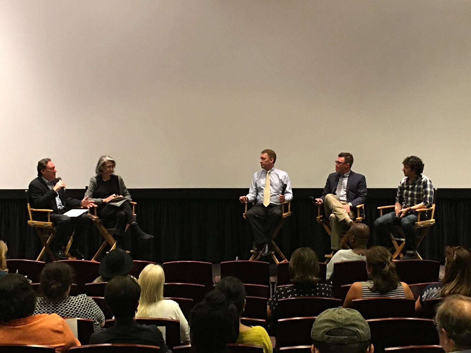 USC MISC & SAKS INSTITUTE -WALKING MAN PANEL DISCUSSION