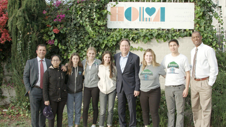 Heart of Los Angeles and Banyan Foundation Volunteers