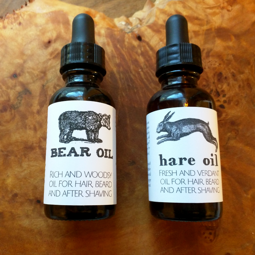 BEAR + HARE oil Gift Set