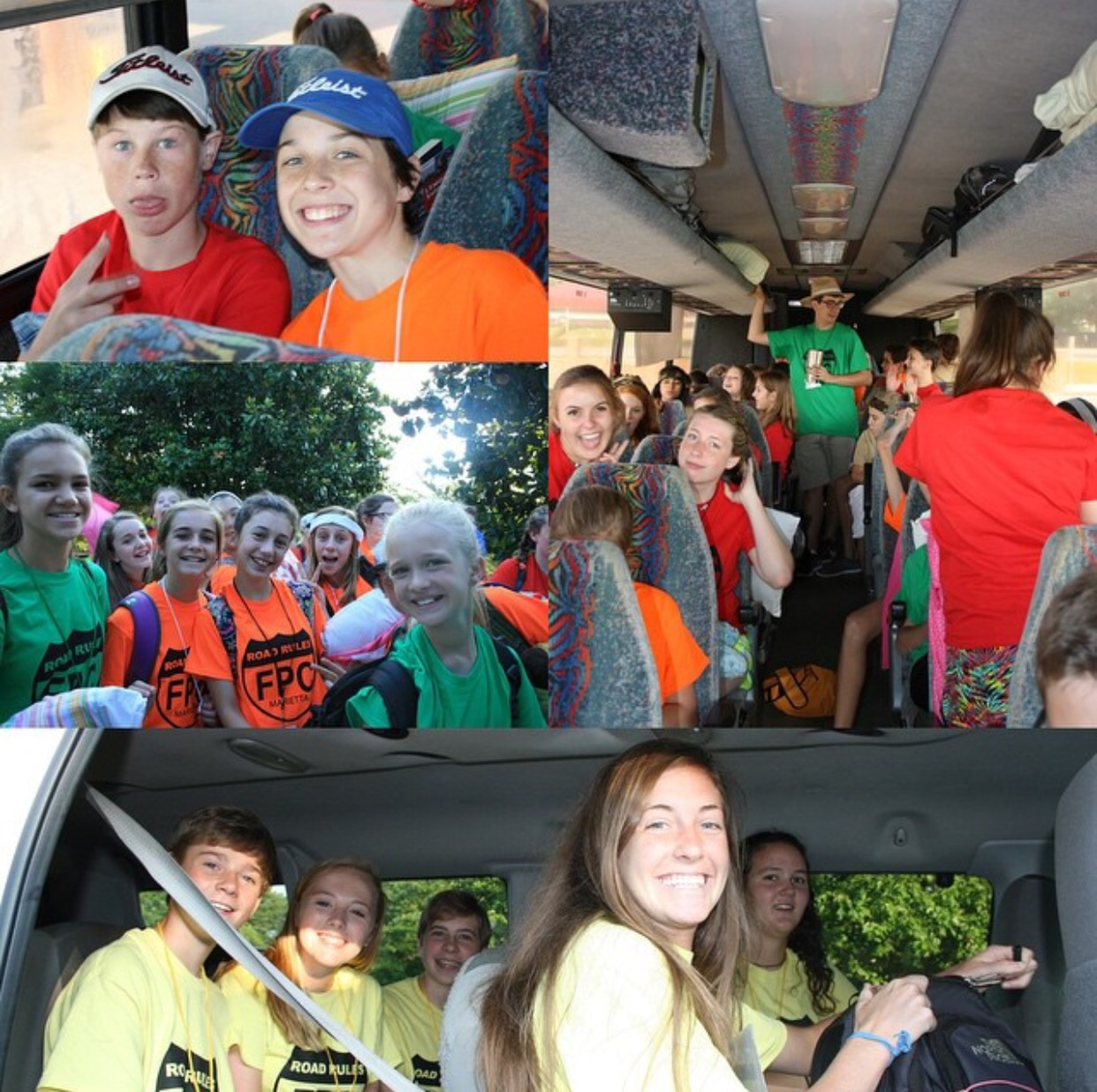 And we're off-- got an early morning start!! Now to our first stop at the Georgia and South Carolina Border.