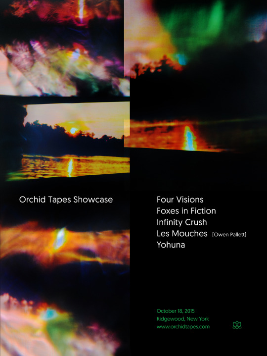 Orchid Tapes Showcase Poster