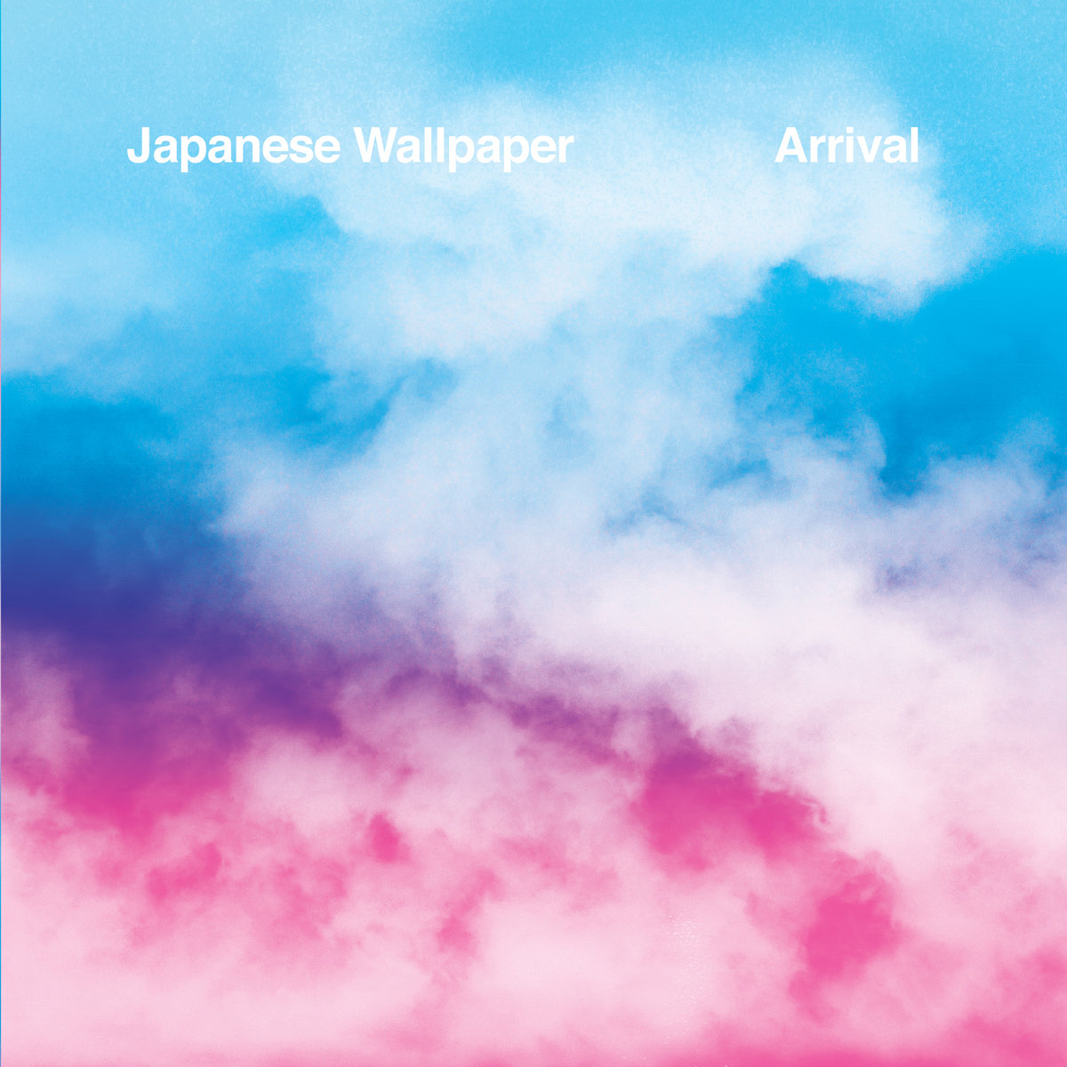 "Japanese Wallpaper ""Arrival"" 7"" Album Cover"