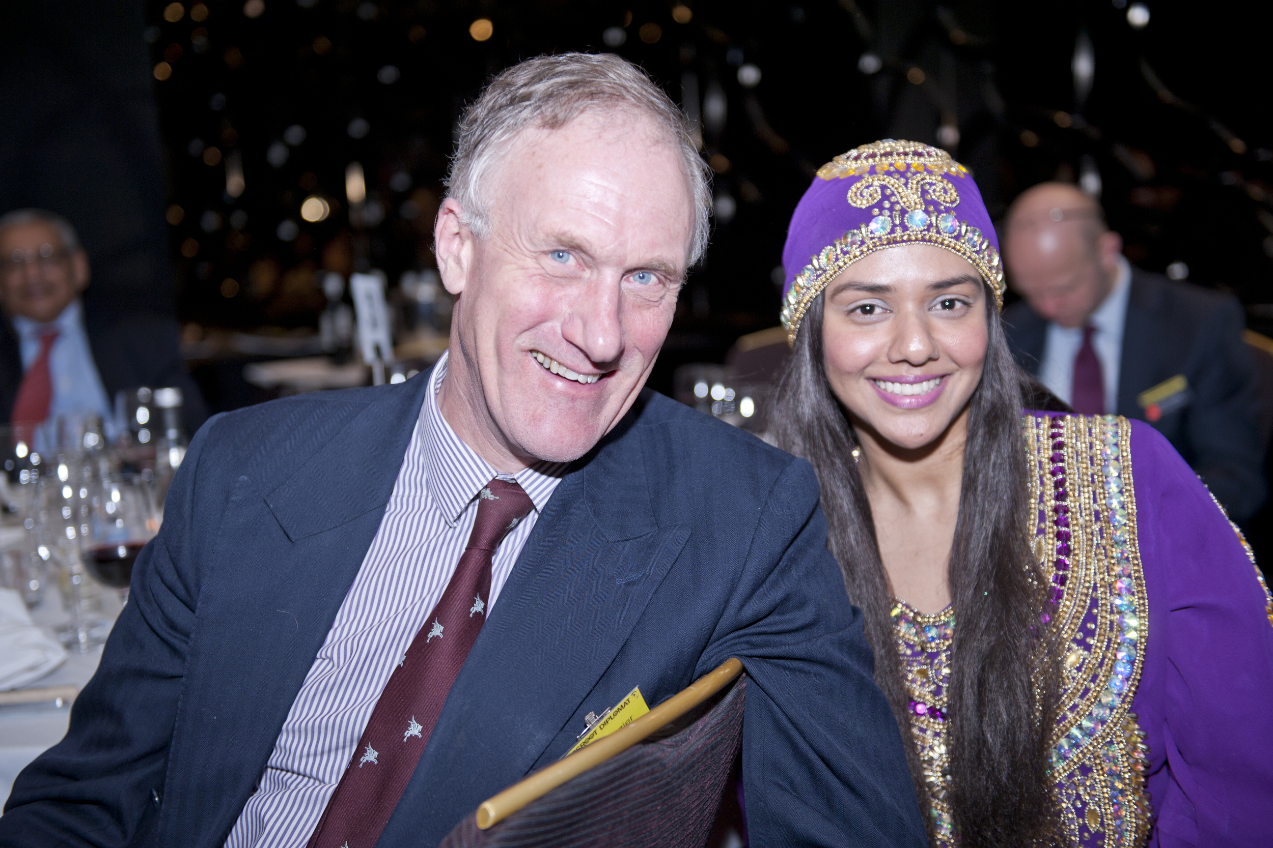 Julian Brazier MP and Talyn Rahman-Figueroa