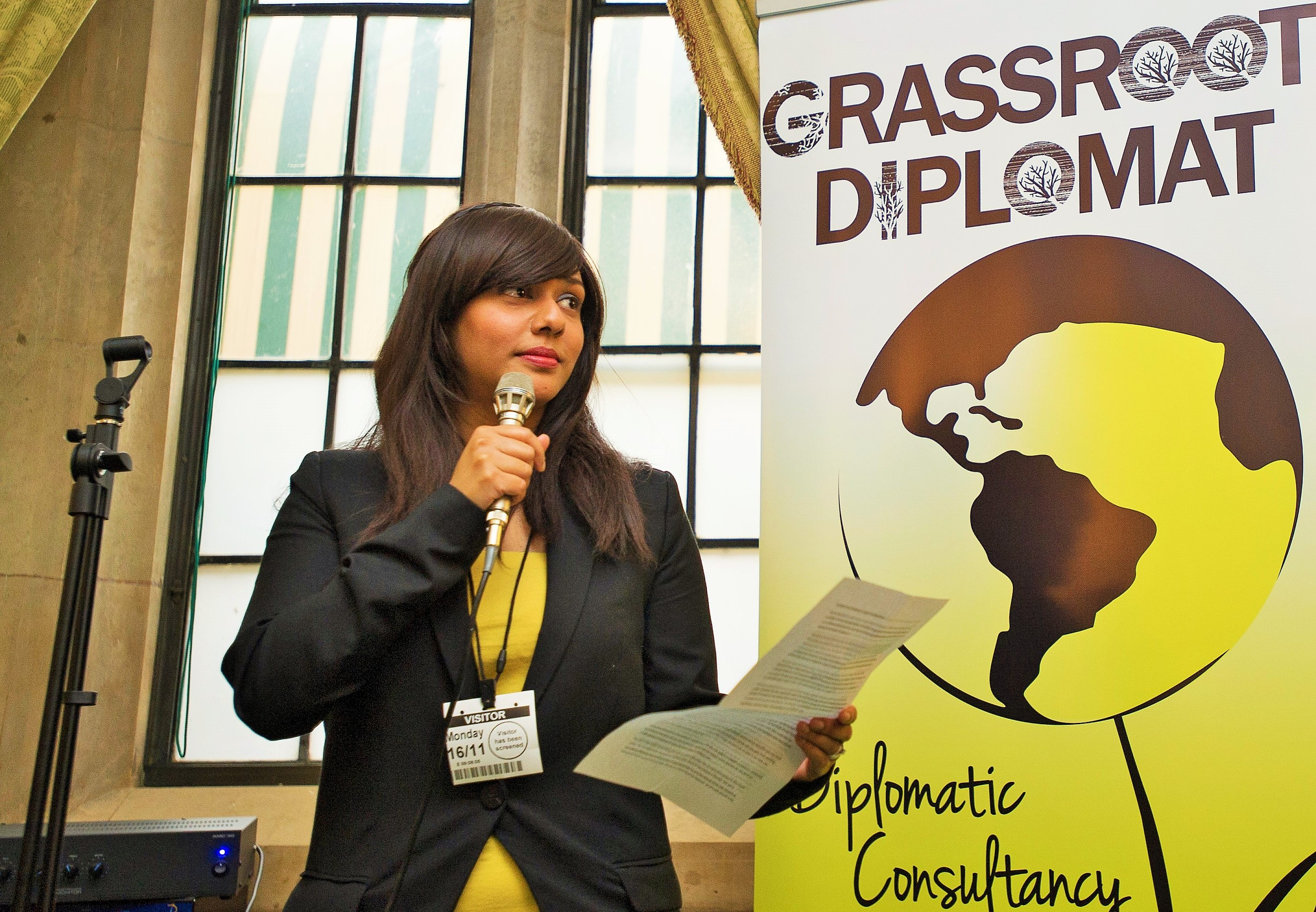 Executive Director Talyn Rahman-Figueroa