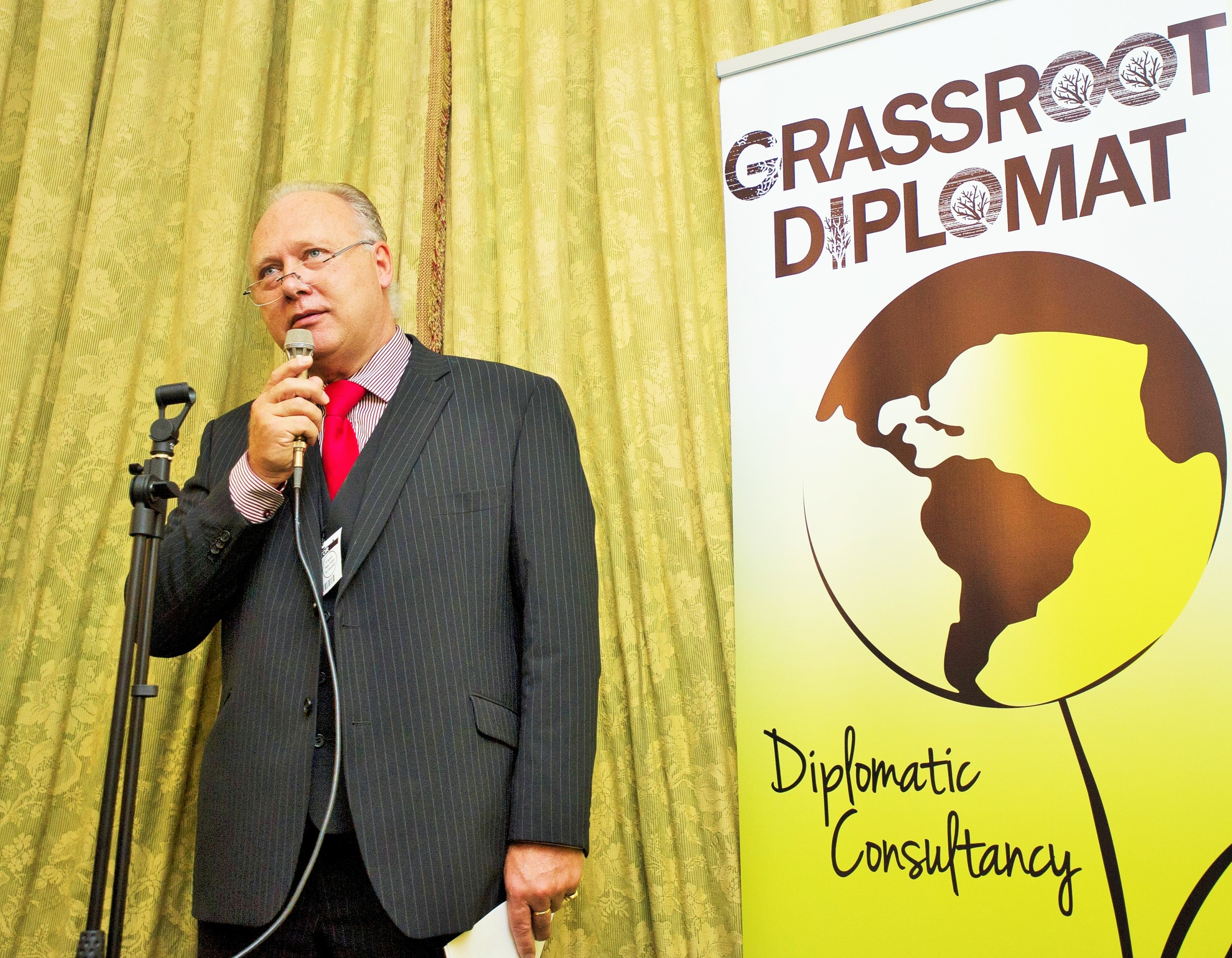 Diplomatic Card Services CEO Marc Stockbroekx