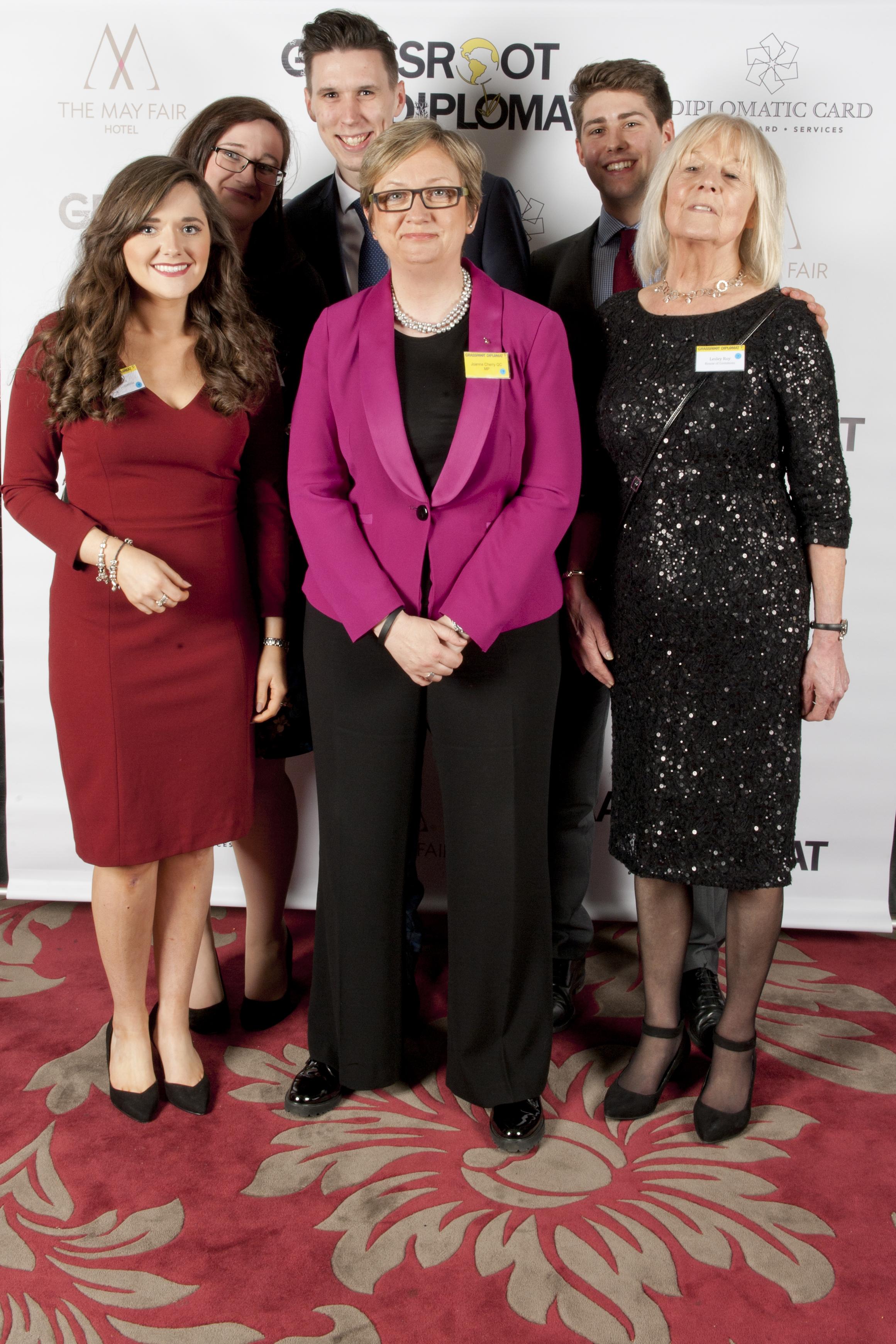 Joanna Cherry MP and staff
