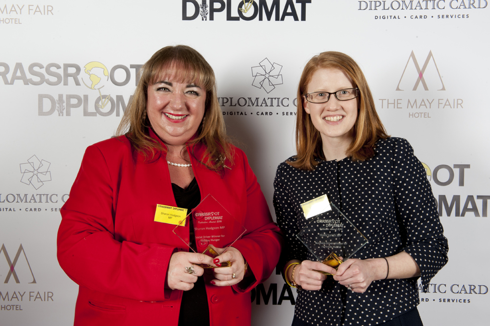 Sharon Hodgson MP and Holly Lynch MP