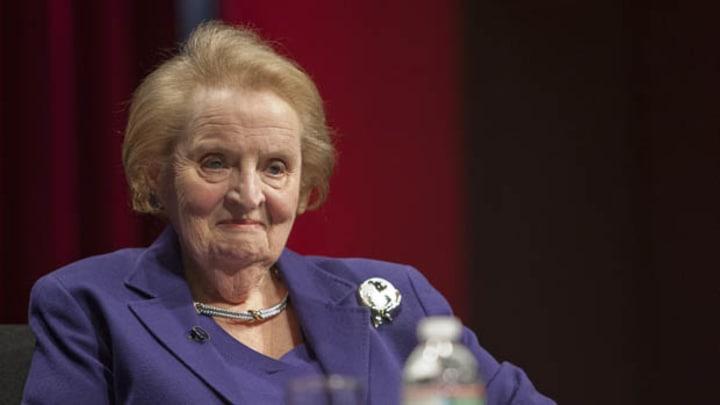 Madeleine Albright, US Secretary of State