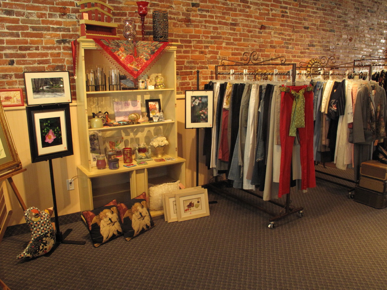 Come see our ever-expanding collection selection of gifts and local artwork.