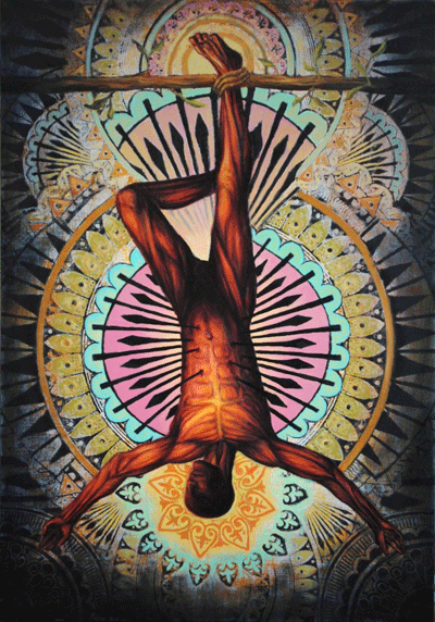 Image:  The Hanged Man  , by   Beau Stanton