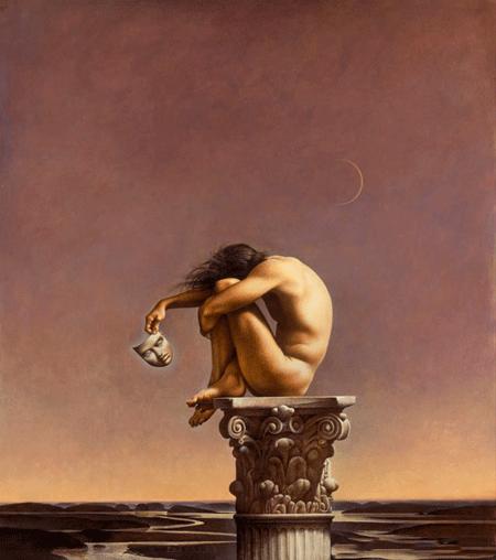 Image:  Becoming Human  , by   John Jude Palencar