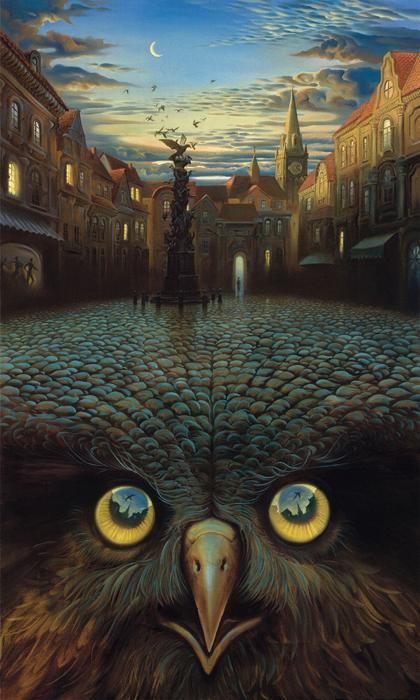 """ Evening's Flight "", VladamirKush"