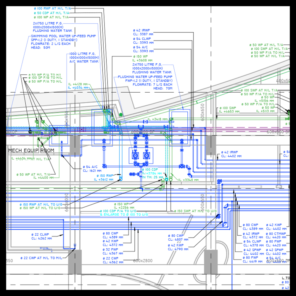 CSD AND ISD DOCUMENTATION - Our Management, modelling and documentation teams will deliver documentation for Architecture, Structure and MEP design teams colocated on or off-site.