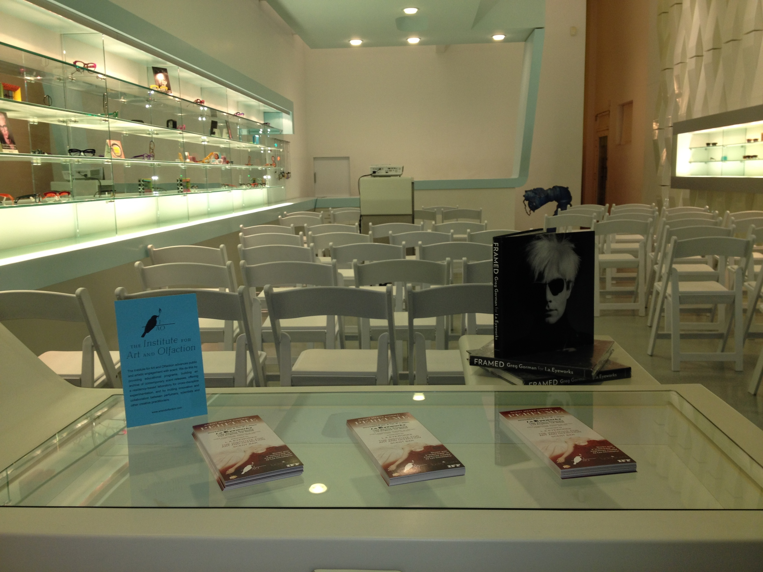 l.a.Eyeworks artistic inspired design is truly one of a kind. Thank you to everyone that made this possible.