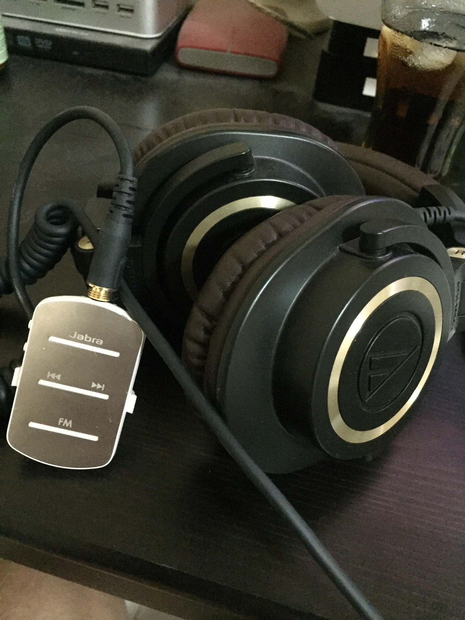 Jabra Tag with Audio-Technica ATH-M50X