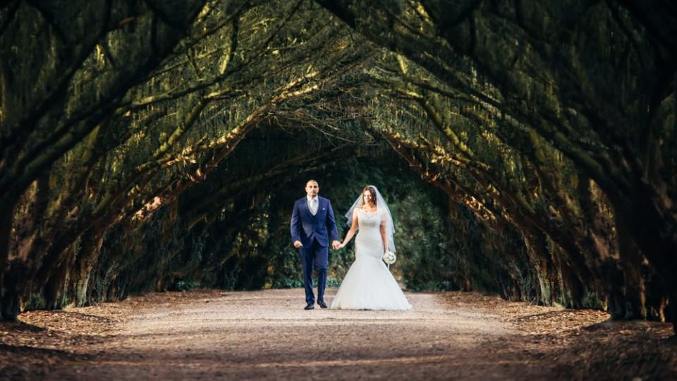 Sutton Coldfield Wedding Venue New Hall Natural Tunnel
