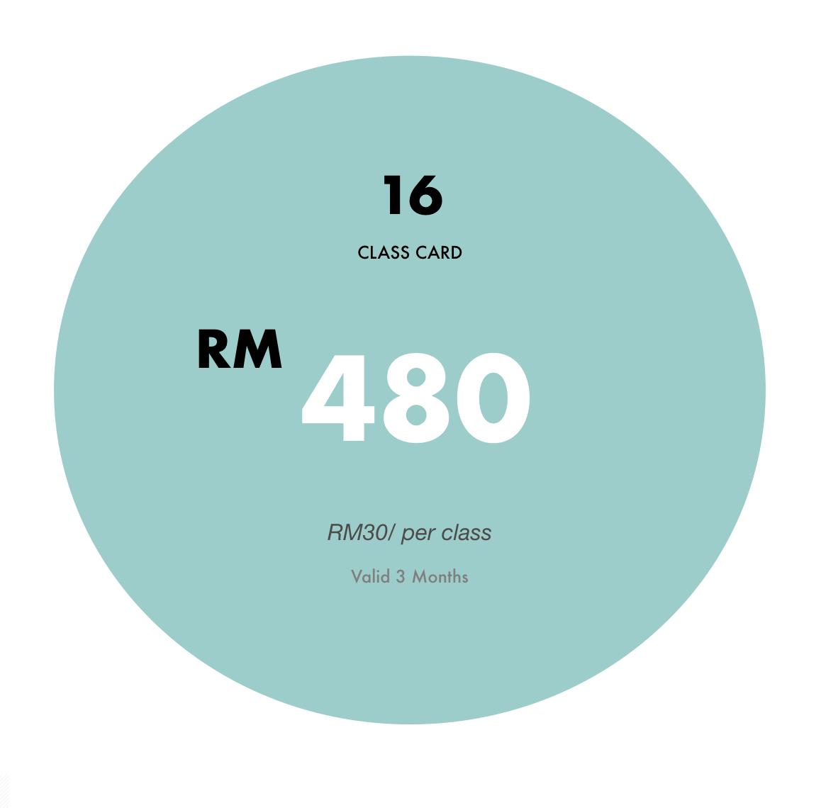 MYR23.75 Per Class