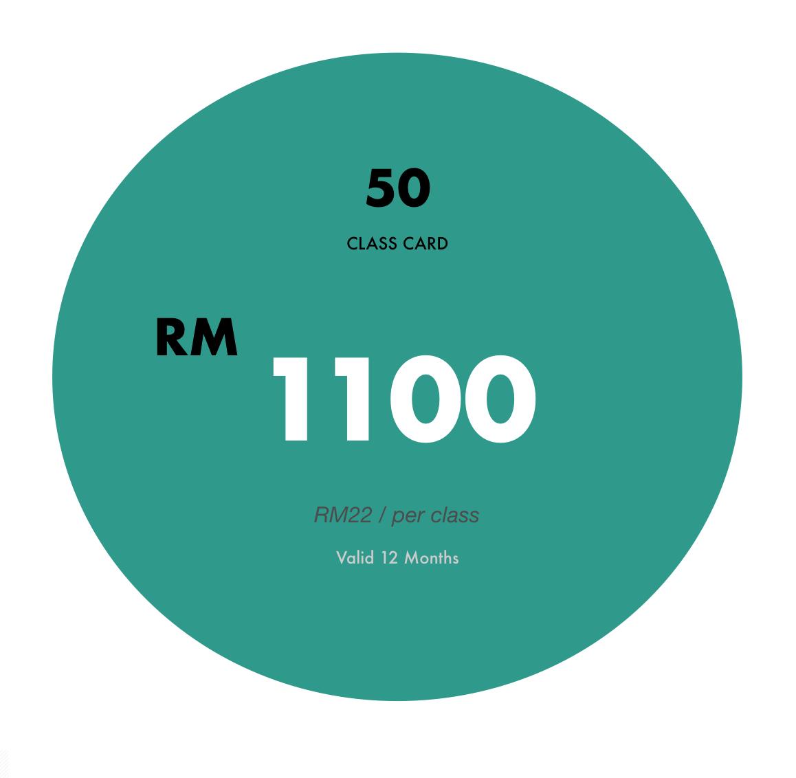 MYR21 Per Class