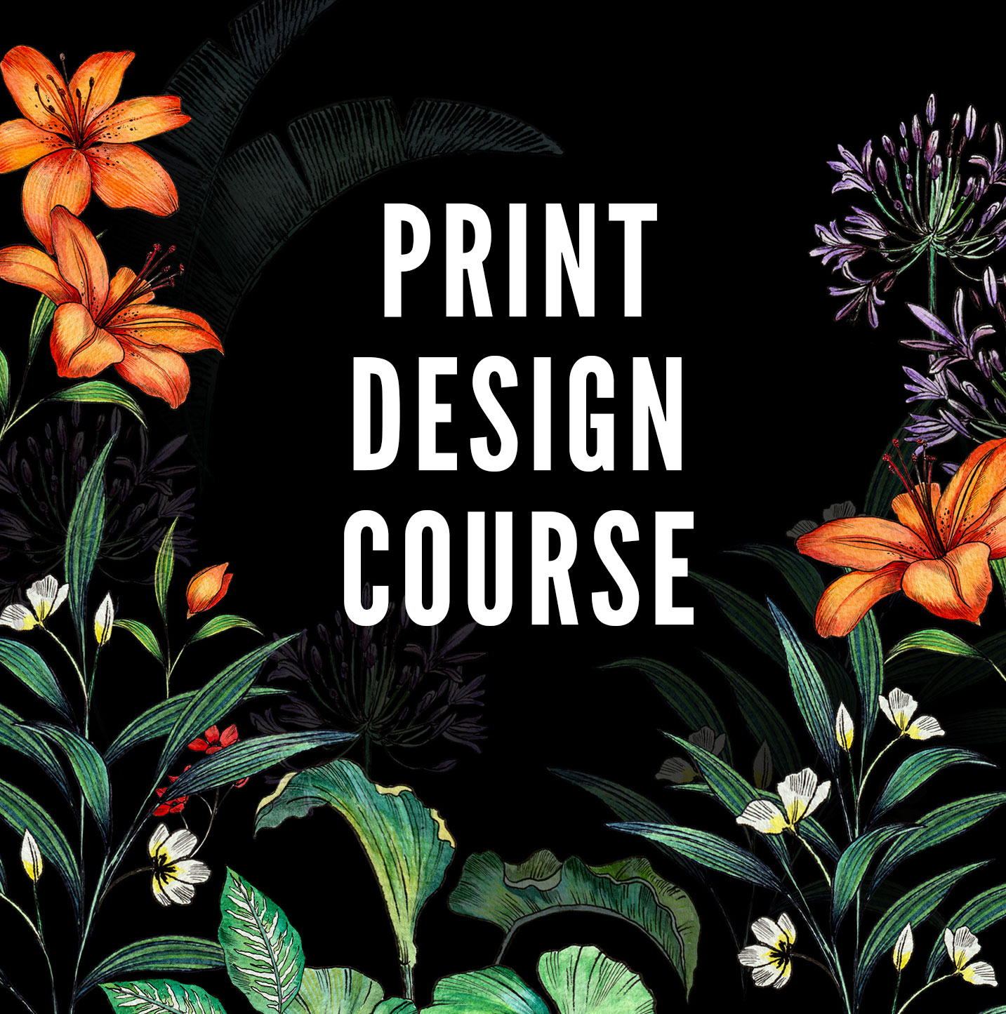 PRINT DESIGN 4 SESSION COurse -