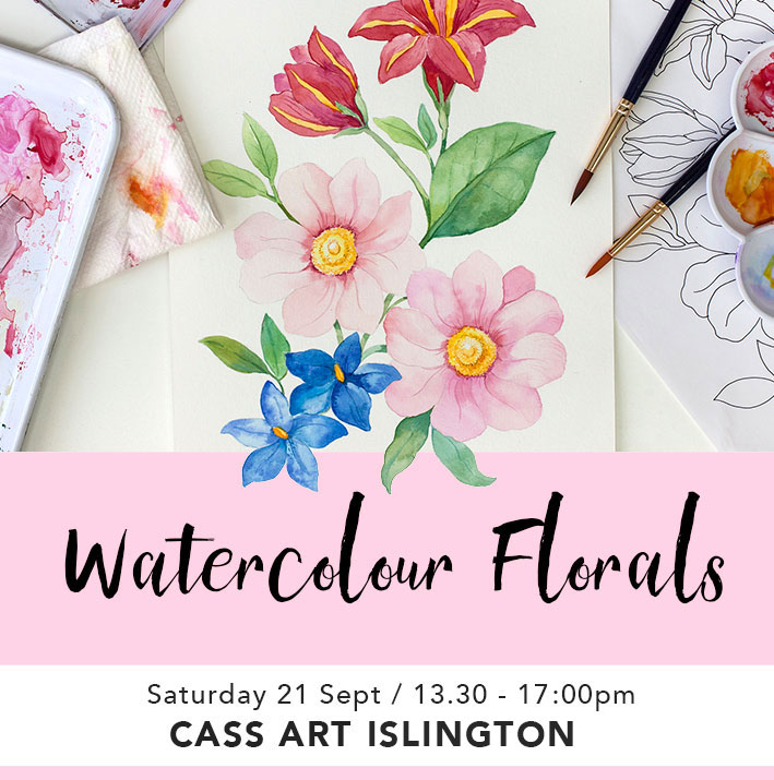 LEARN HOW TO PAINT FLOWERS IN WATERCOLOR -