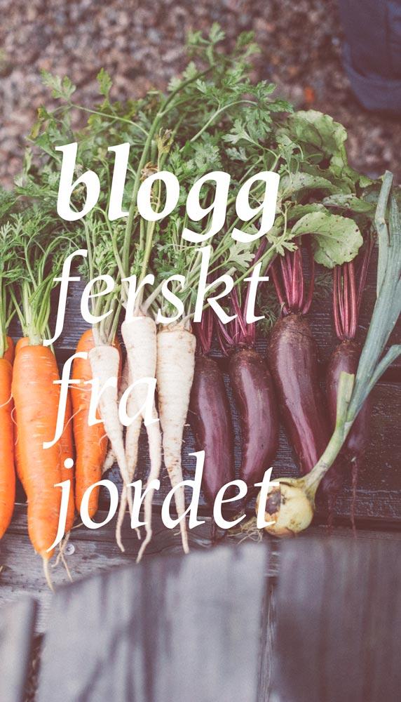 Blogg Fersk Fra Jordet