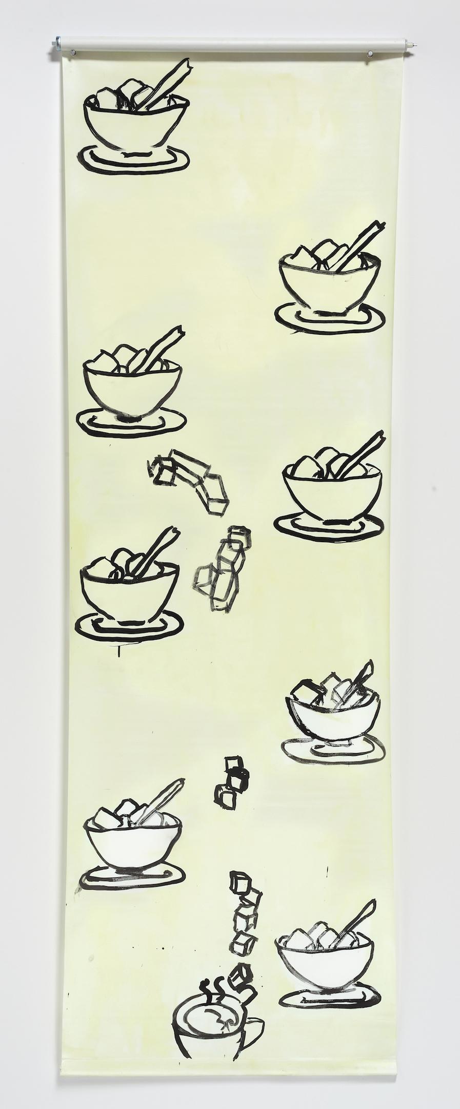 Sugar Cubes, Wallpaper Drawing