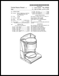 AD Coffeemaker Patent Program