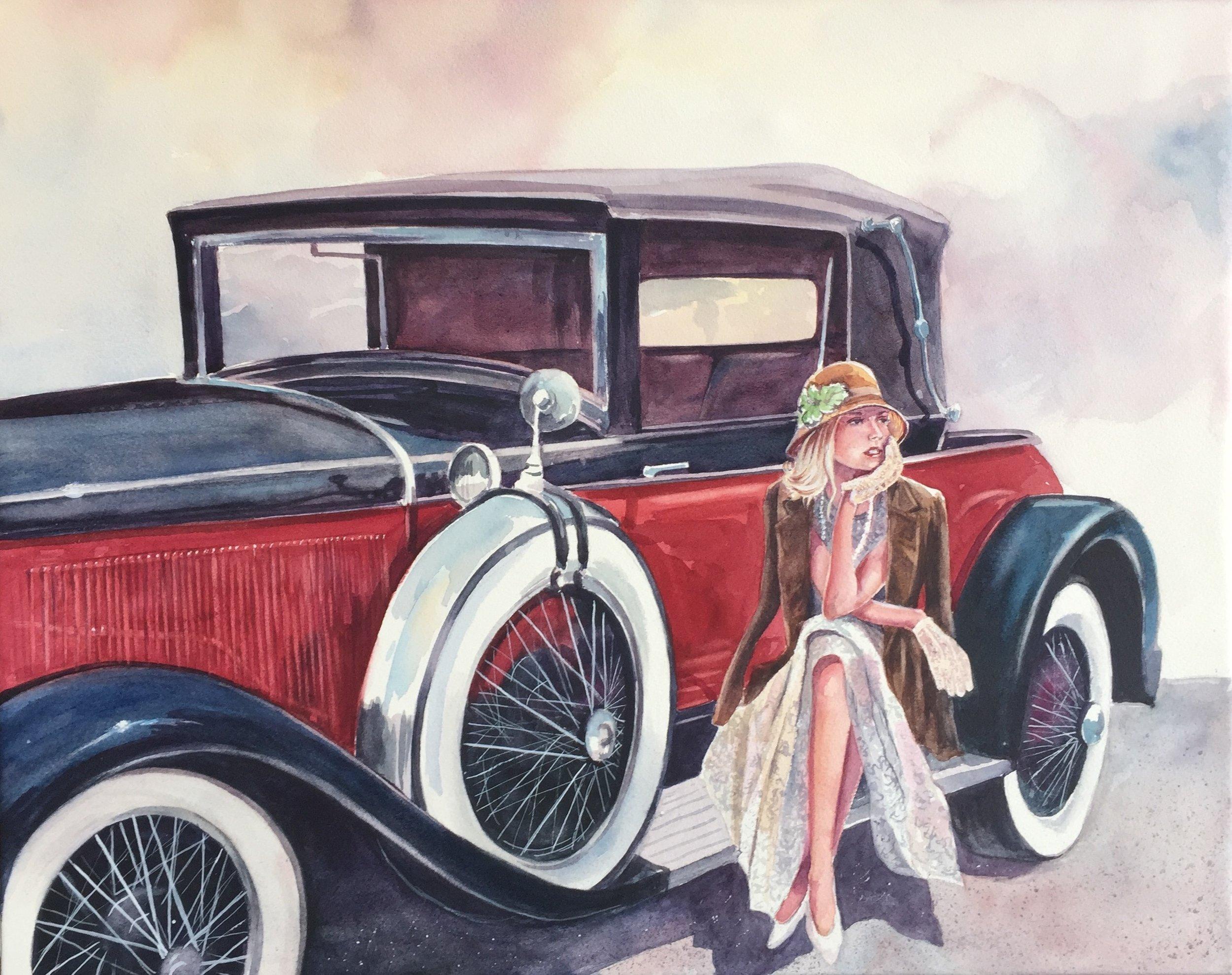 Classy Ones  Watercolor 16x20