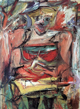 Williem de Kooning's woman v