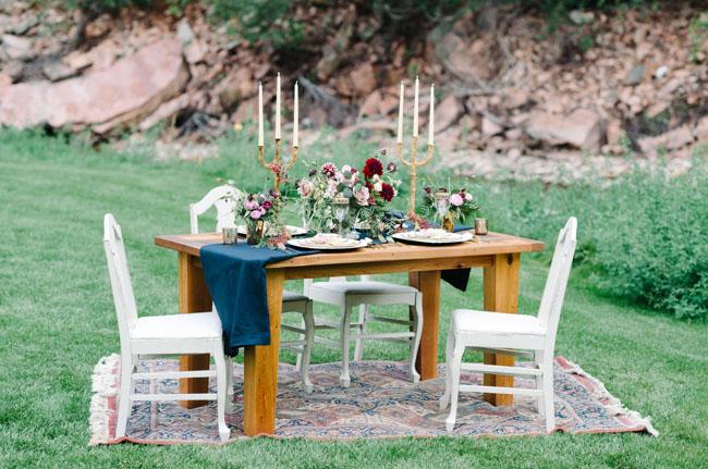 Green Wedding Shoes - Naturally Bold Fall Wedding Inspiration