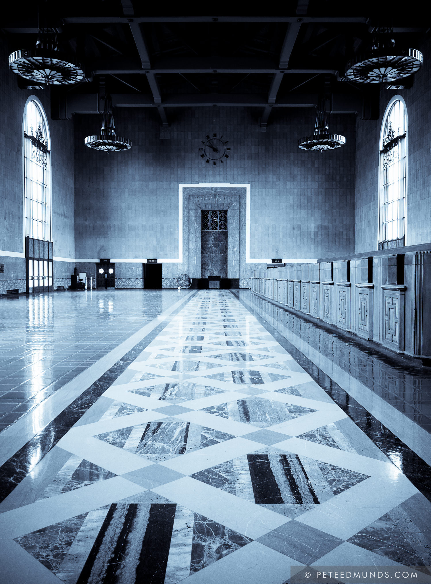Old Ticketing Hall, Union Station, LA