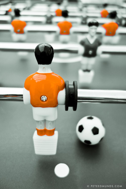 Table Football 02B - Defender | Orange