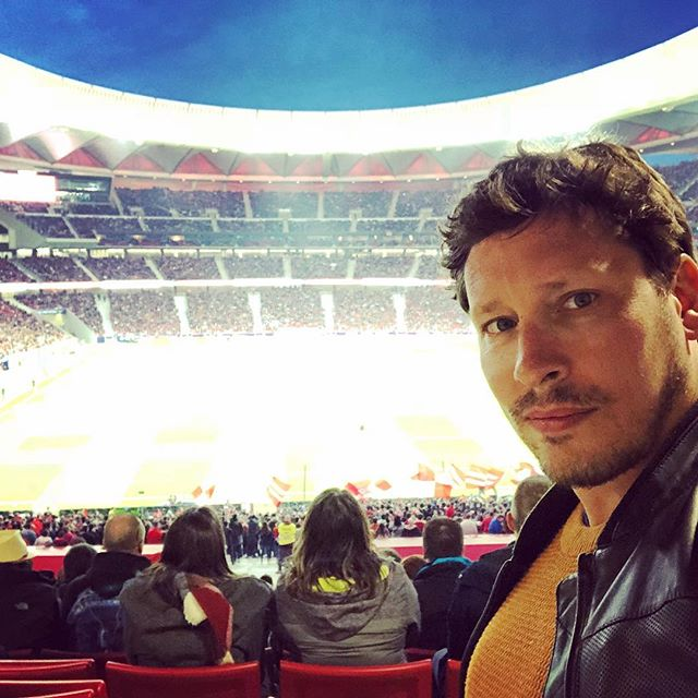 Ready to get my La Liga on. #AtleticoMadrid #LaLiga #wandametropolitano #football