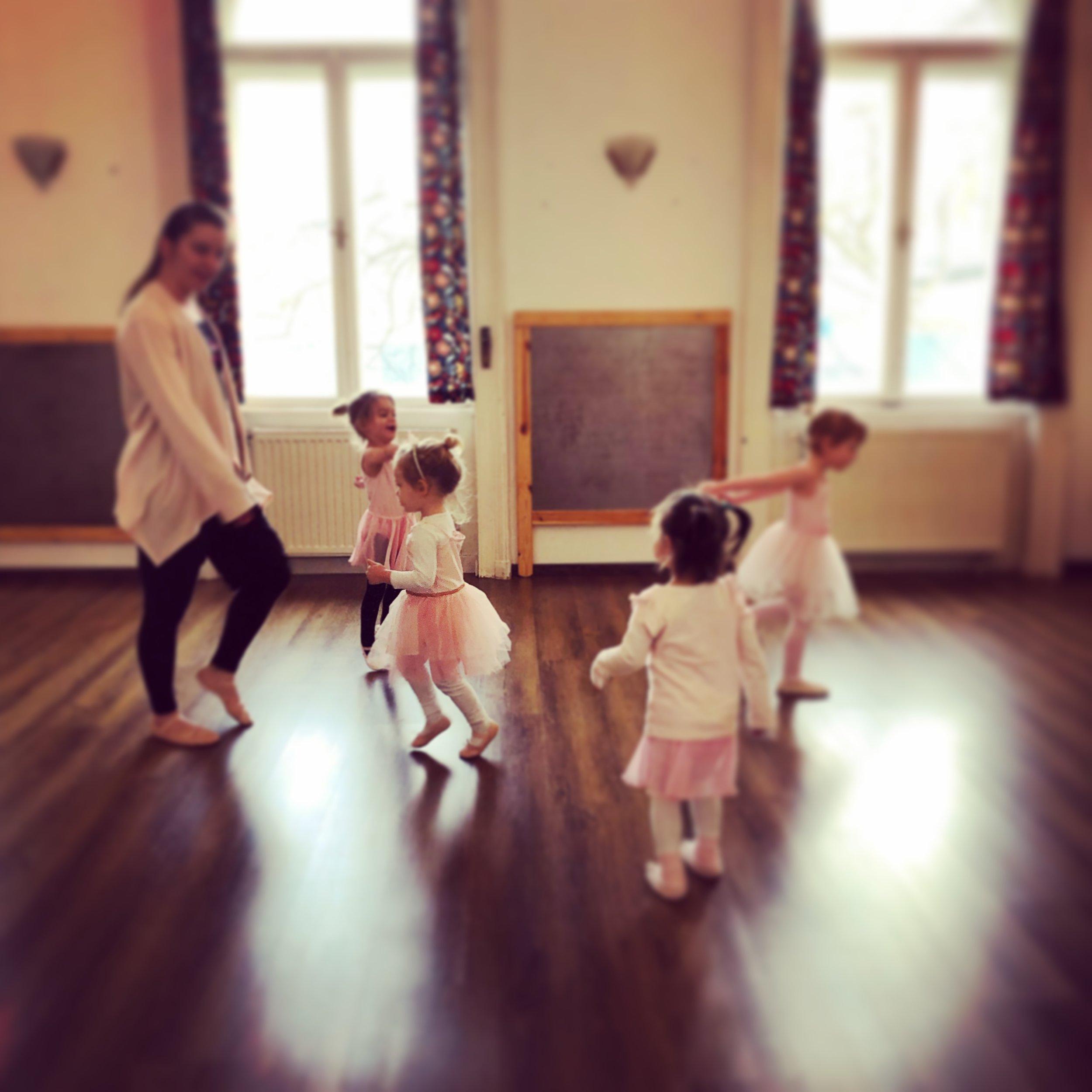 A bit of ballet makes it all better