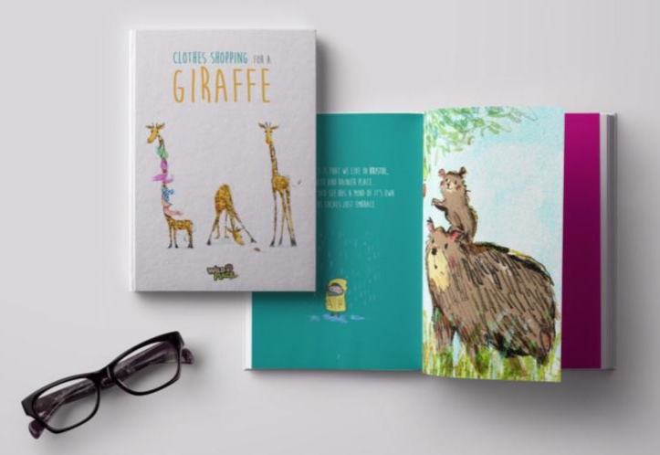 Campaign Creative - To promote a new giraffe enclosure at Wild Place (a wildlife park in Bristol), I helped to devise a campaign strategy built around the creation of a children's book (written by myself), with all of the advertising copy across all formats, borrowing from the book.