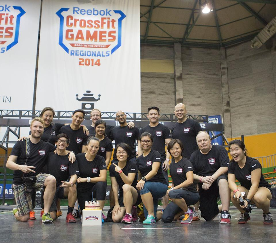 Covering CrossFit in Asia -