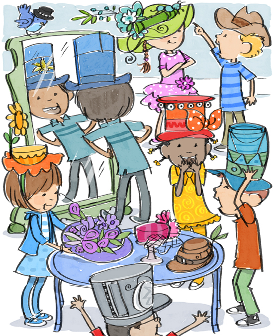 Fancy Hat Day HAPPY HOLLY DAYS Hidden Puzzle.jpg