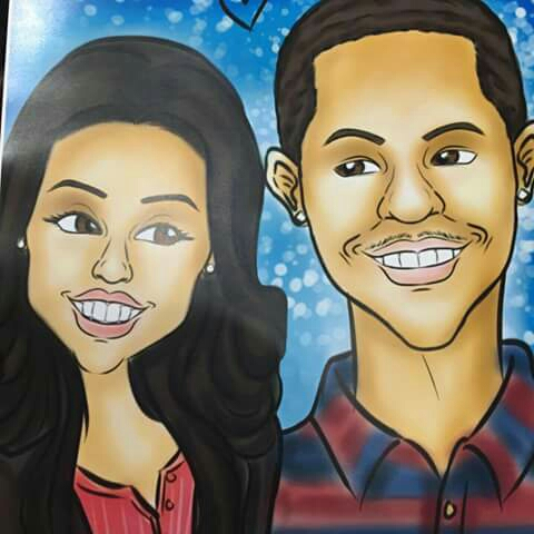 Photo cred- Characature, Model Mr. Laterrius & Jennell Steele