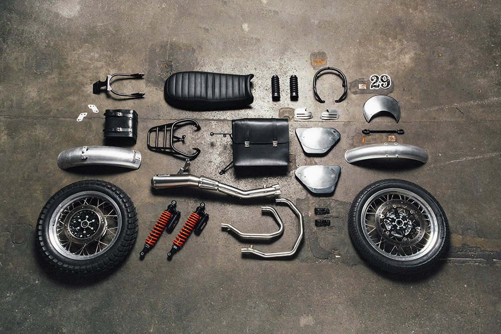 The Scrambler kit